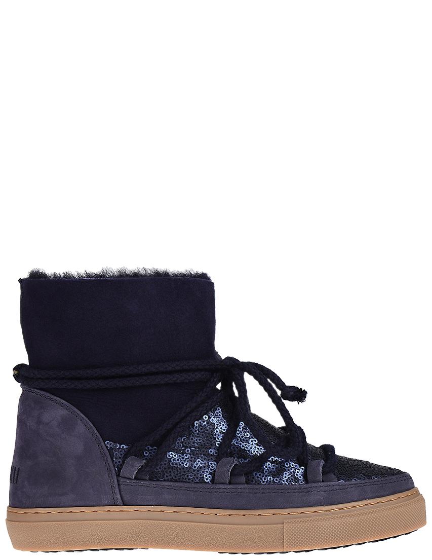 Женские ботинки INUIKII 20110-Blue