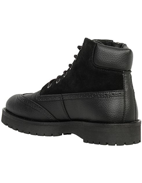 мужские черные Ботинки Trussardi 77A001219Y099999-K299 - фото-2