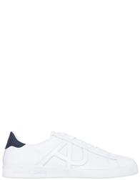 Мужские кроссовки Armani Jeans 500_white