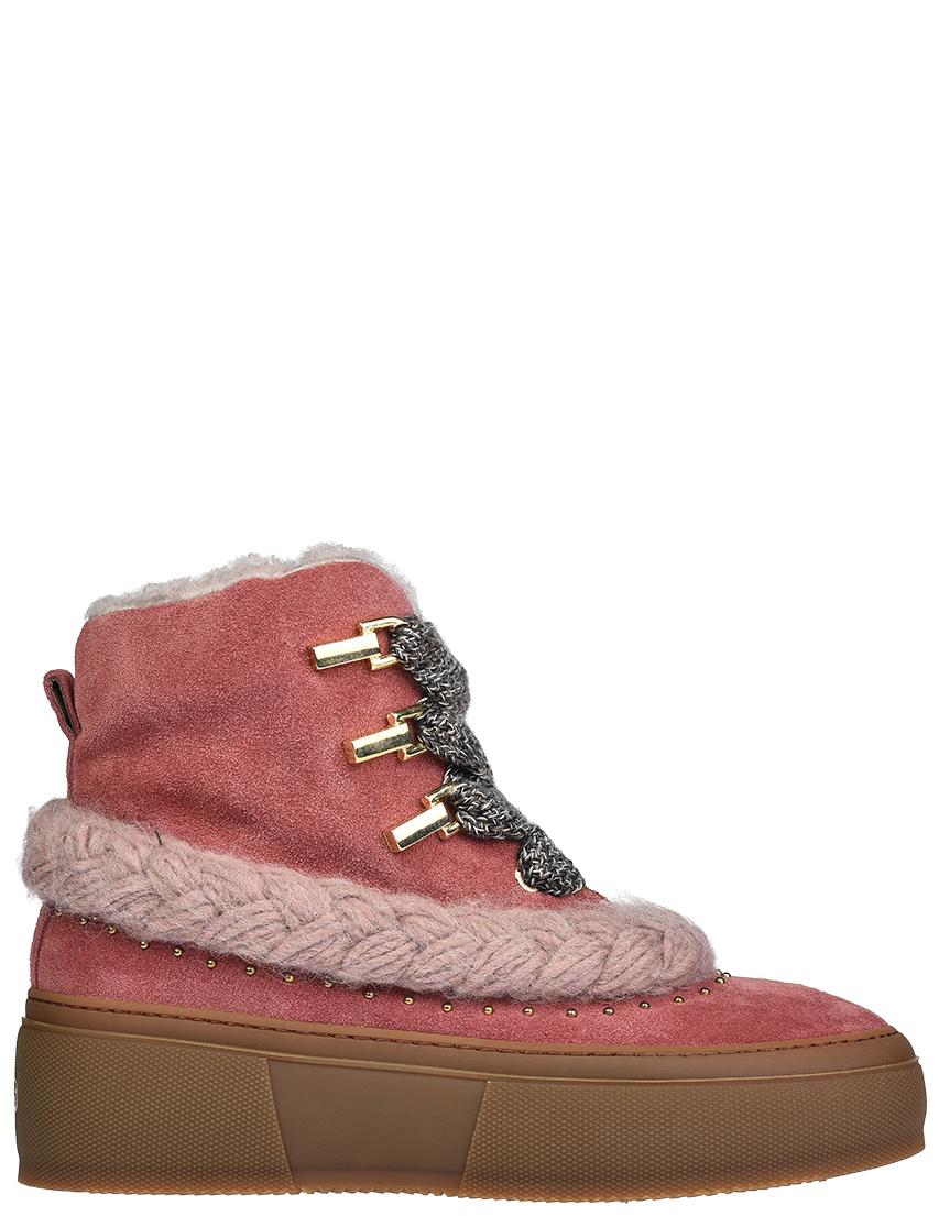 Женские ботинки 4US Cesare Paciotti D1_pink