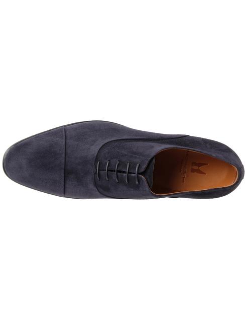 мужские синие замшевые Туфли Moreschi 039165 - фото-5