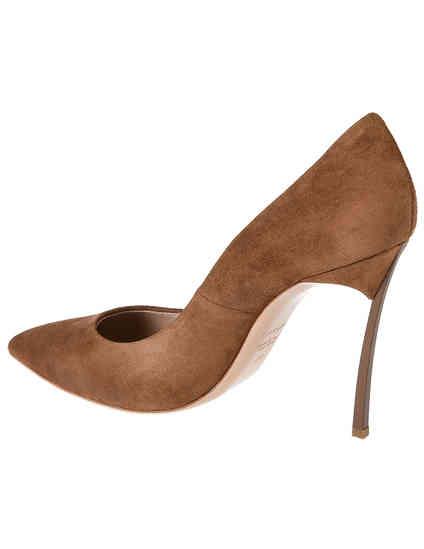коричневые женские Туфли Casadei 4177_brown 11985 грн