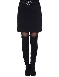 Женская юбка LOVE MOSCHINO GD6880S2895-C14_black