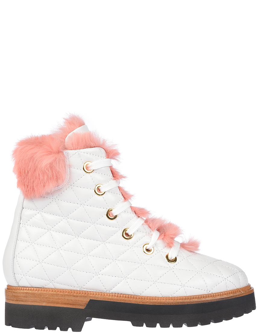 Купить Ботинки, EDDY DANIELE, Белый, Осень-Зима