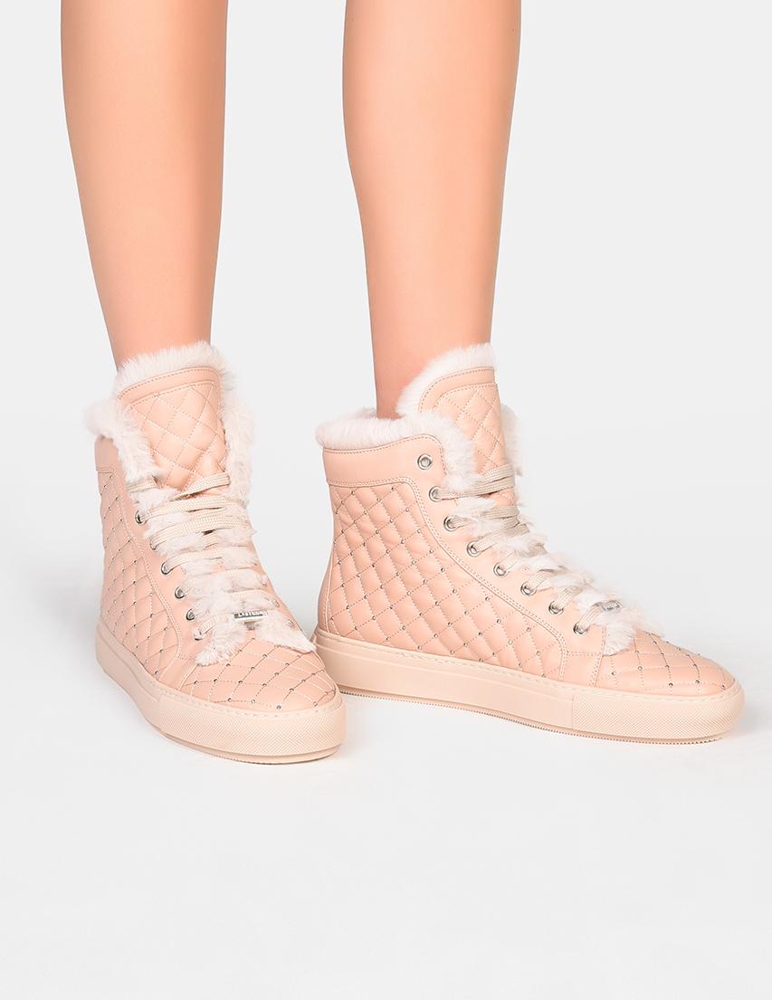 Женские кеды Le Silla 452_pink