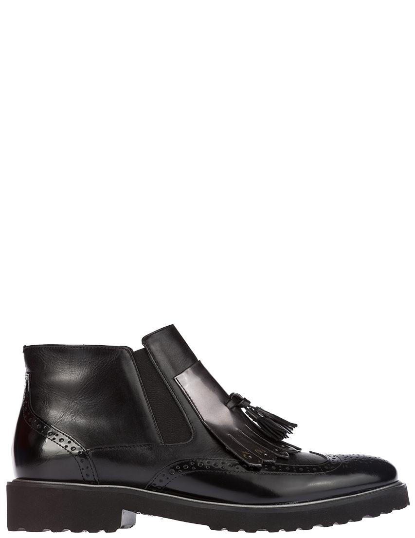 Купить Ботинки, LUCA GROSSI, Черный, Осень-Зима