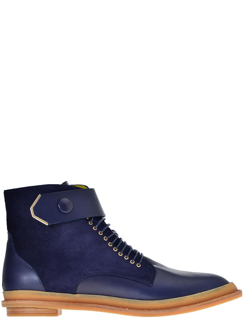 Фото - женские ботинки и полуботинки  синего цвета