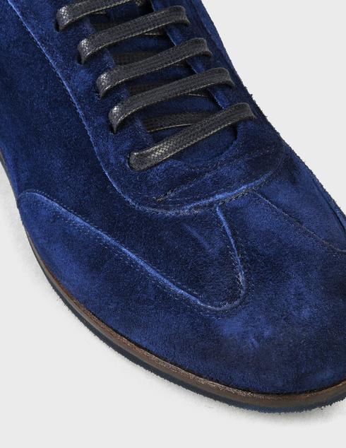 мужские синие замшевые Кроссовки Fabi 9266-blue - фото-5