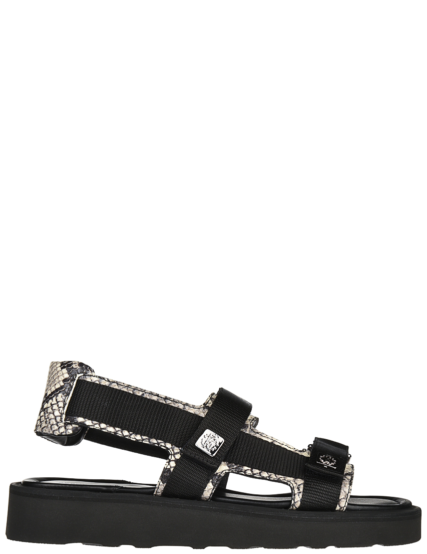 Мужские сандалии Roberto Cavalli 4235_black