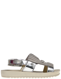 Детские сандалии для девочек Naturino 6012-argento_silver