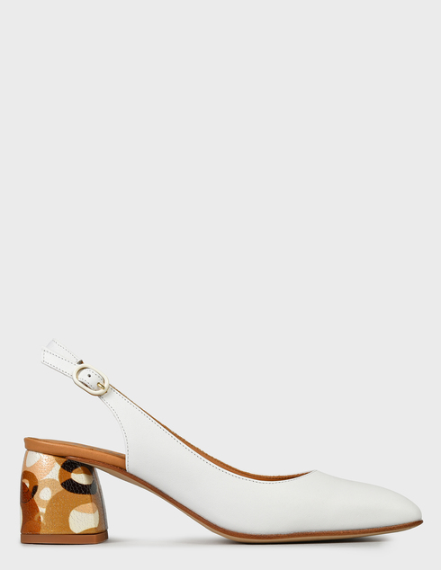 женские белые Босоножки Pertini 201W16659D3-T54 - фото-7