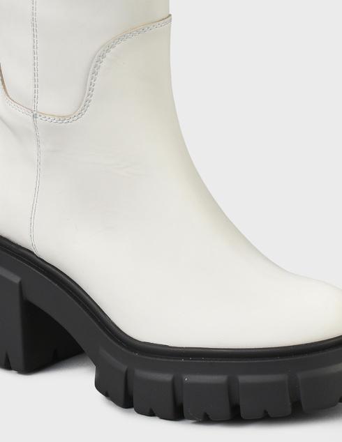 женские белые кожаные Сапоги Loriblu 2I6TM00200-BIANCO - фото-5