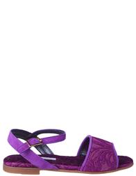 Босоножки для девочек DOLCE & GABBANA D10153_purple