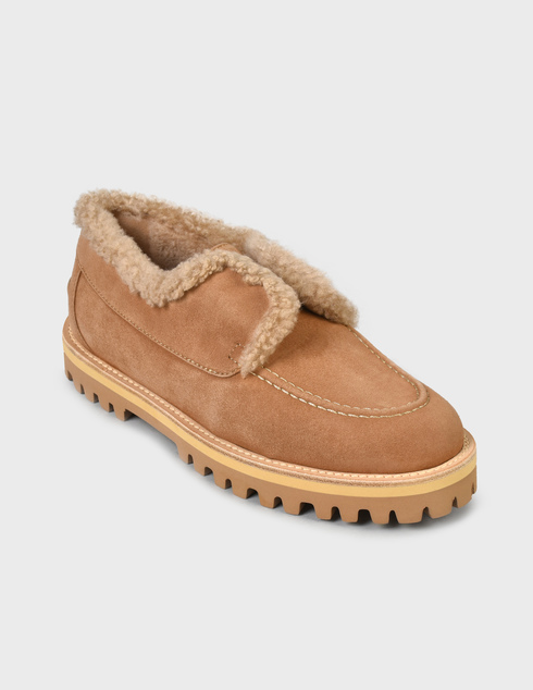 женские бежевые Ботинки Le Silla AGR-5182T020-GINGER - фото-2