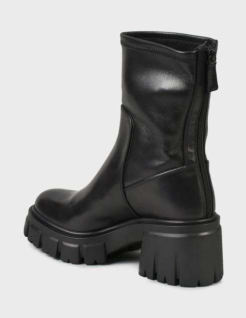 женские черные Ботинки Loriblu 2I6TM02400-NERO - фото-2