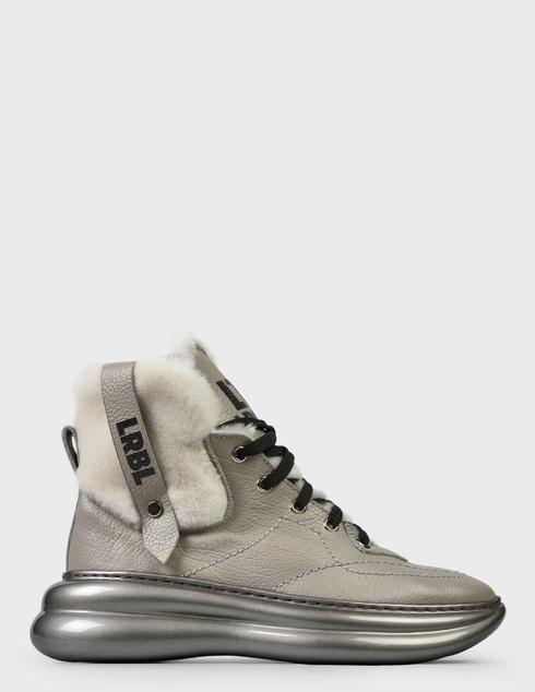 женские серые Ботинки Loriblu AGR-1IXV0245XV - фото-7