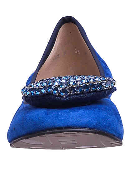 женские синие Балетки To Be Kuki_blue - фото-6