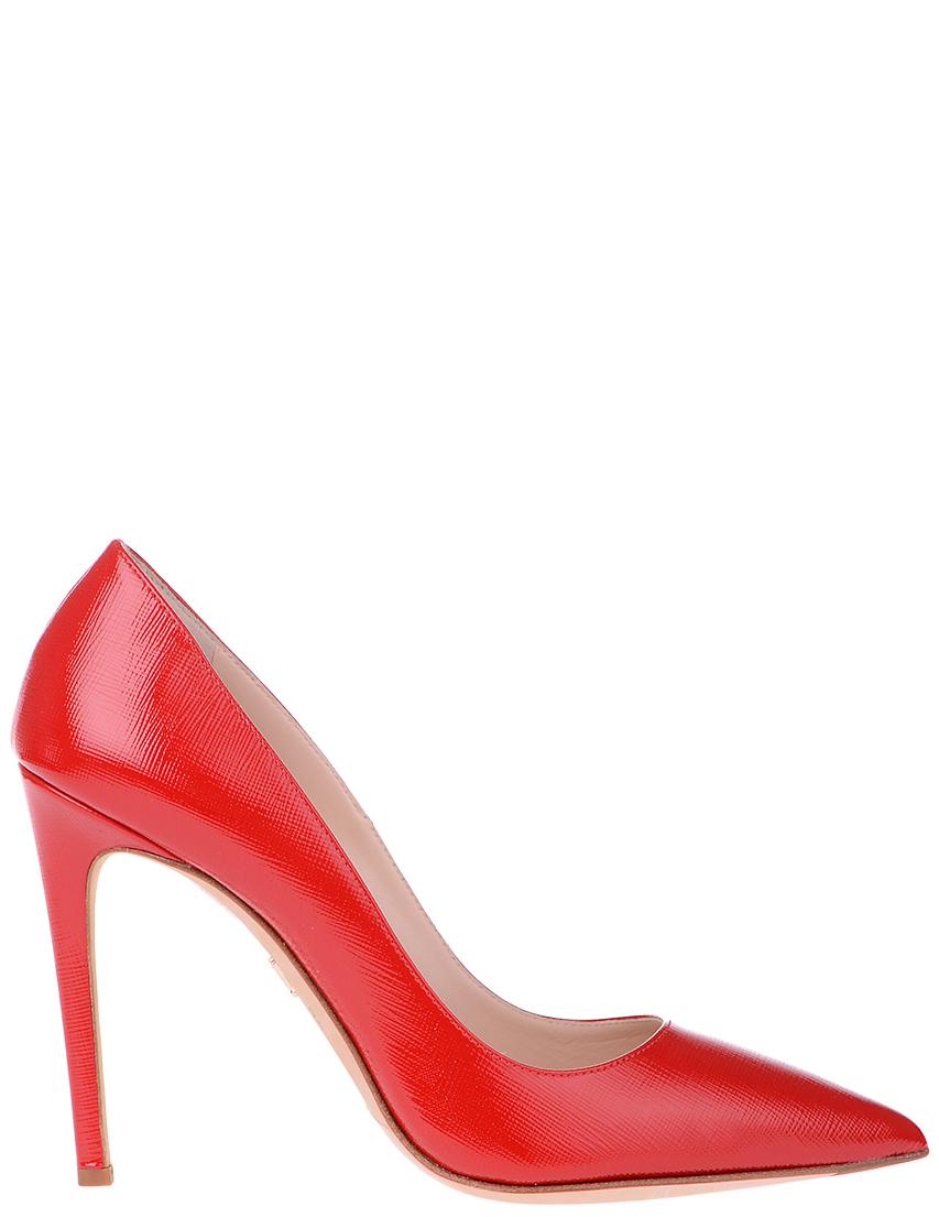 Купить Туфли, MASCIA MANDOLESI, Красный, Осень-Зима