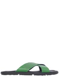 Мужские шлепанцы Moschino 2014_green