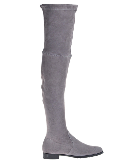 женские серые Ботфорты Mascaro 305_gray - фото-6