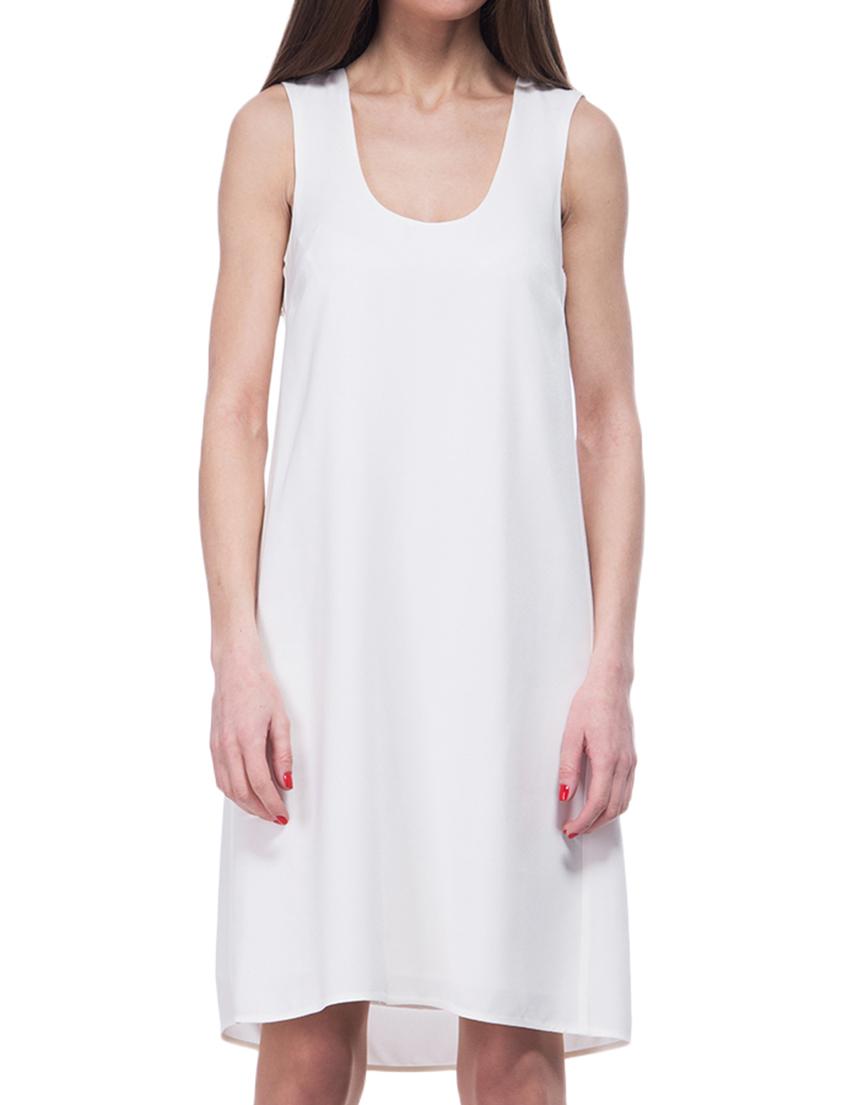 Купить Платье, PATRIZIA PEPE, Белый, 70%Ацетат 30%Вискоза, Весна-Лето