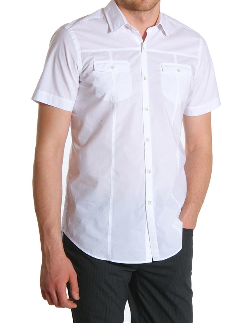 Купить Рубашка, GUESS BY MARCIANO, Белый, 100%Хлопок, Весна-Лето