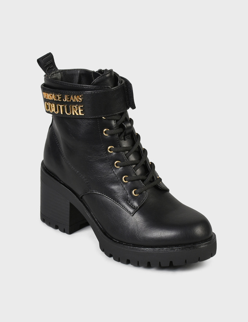 женские черные Ботинки Versace Jeans Couture 71VA3S90-899 - фото-2
