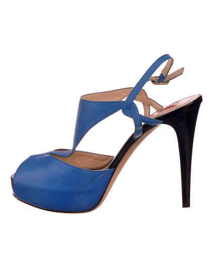 синие женские Босоножки Ballin 921315 5053 грн