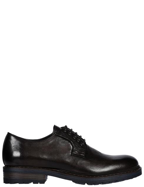 мужские коричневые кожаные Туфли Brecos 9178 - фото-5