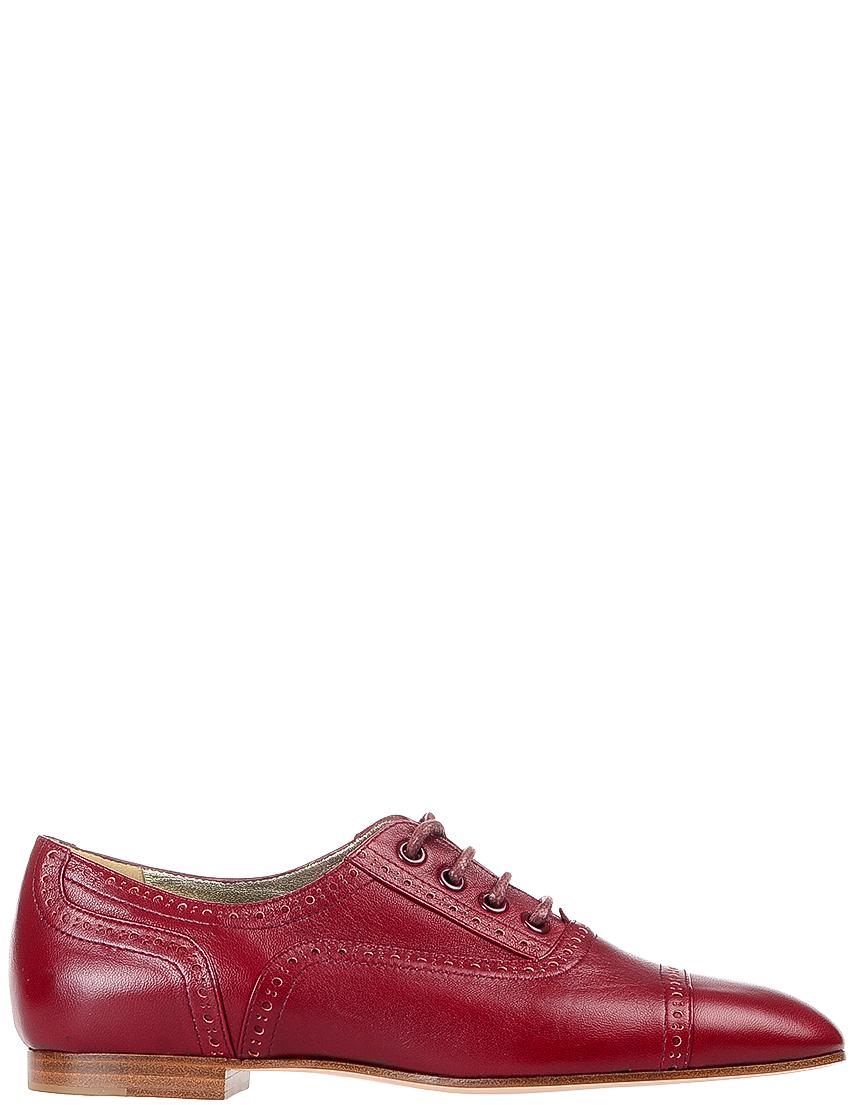 Купить Туфли, INES DE LA FRESSANGE, Красный, Весна-Лето