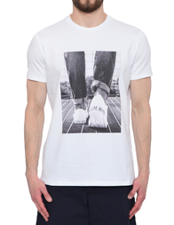 Мужская футболка ARMANI JEANS AGR-3Y6T136J0AZ-1100