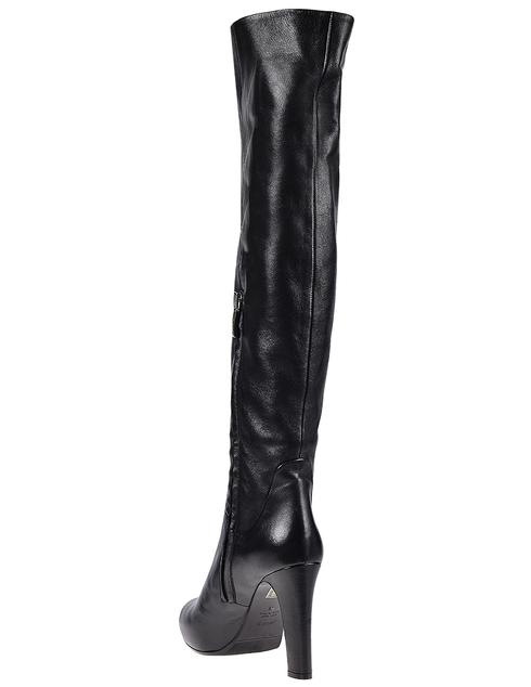 женские черные Ботфорты Loriblu 8101-black - фото-2