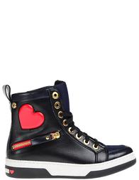 Женские ботинки LOVE MOSCHINO 15033_blue