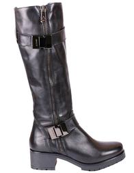Женские сапоги ALBANO 7014-black