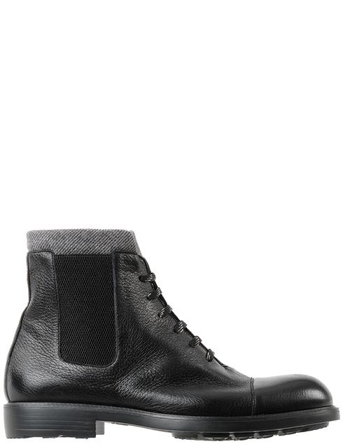 мужские черные Ботинки Moreschi 42865 - фото-2