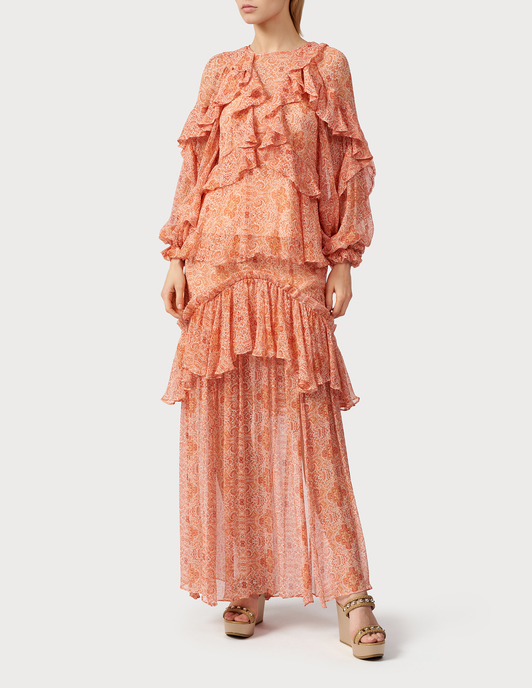 Thurley TH-SS19-SK1647-BALMY-NIGHT-maxi-coral фото-4