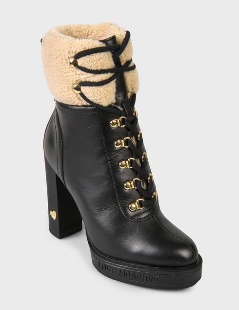 черные Ботинки Love Moschino JA2129AH0DIAP00A