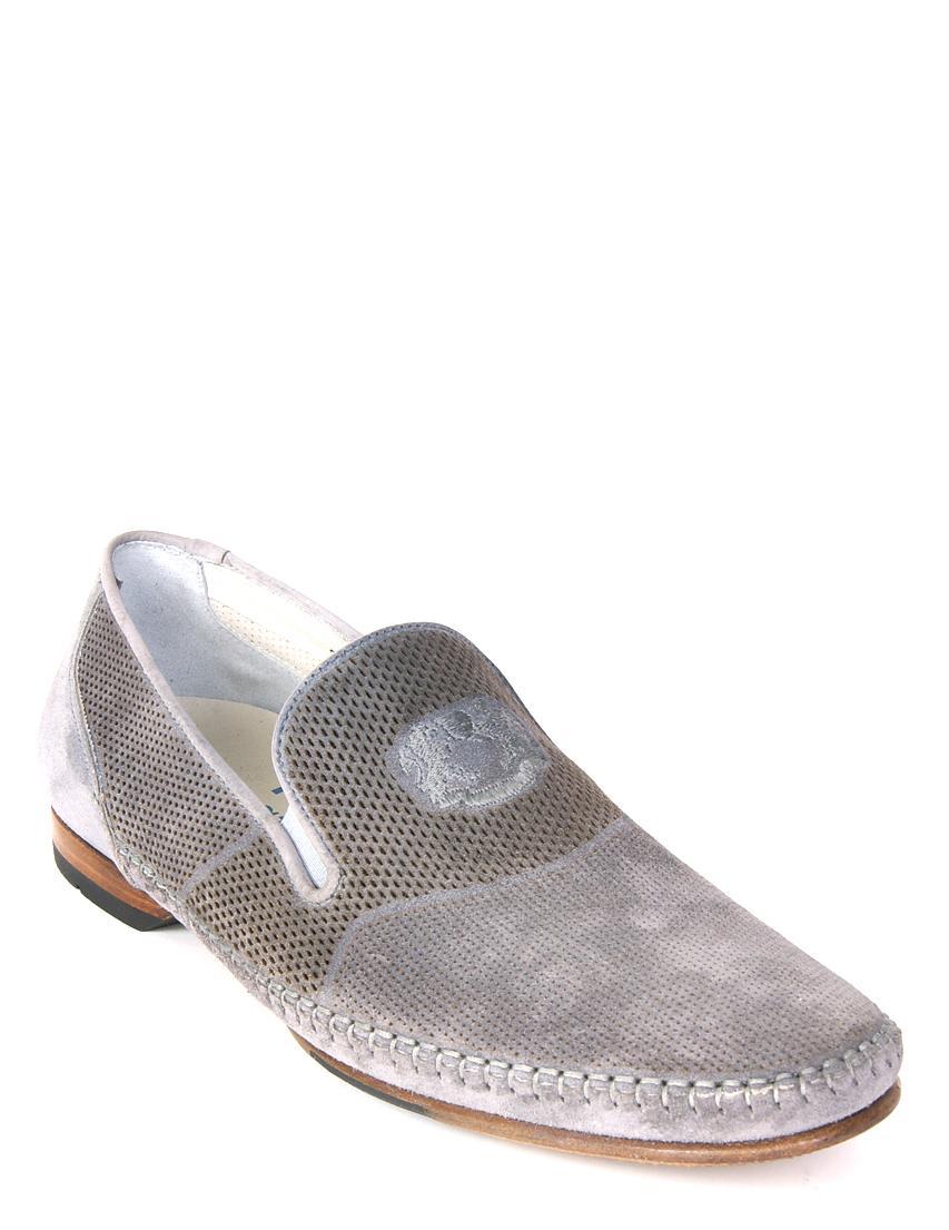 Купить Туфли, ROSSI, Серый, 100%Нубук, Весна-Лето