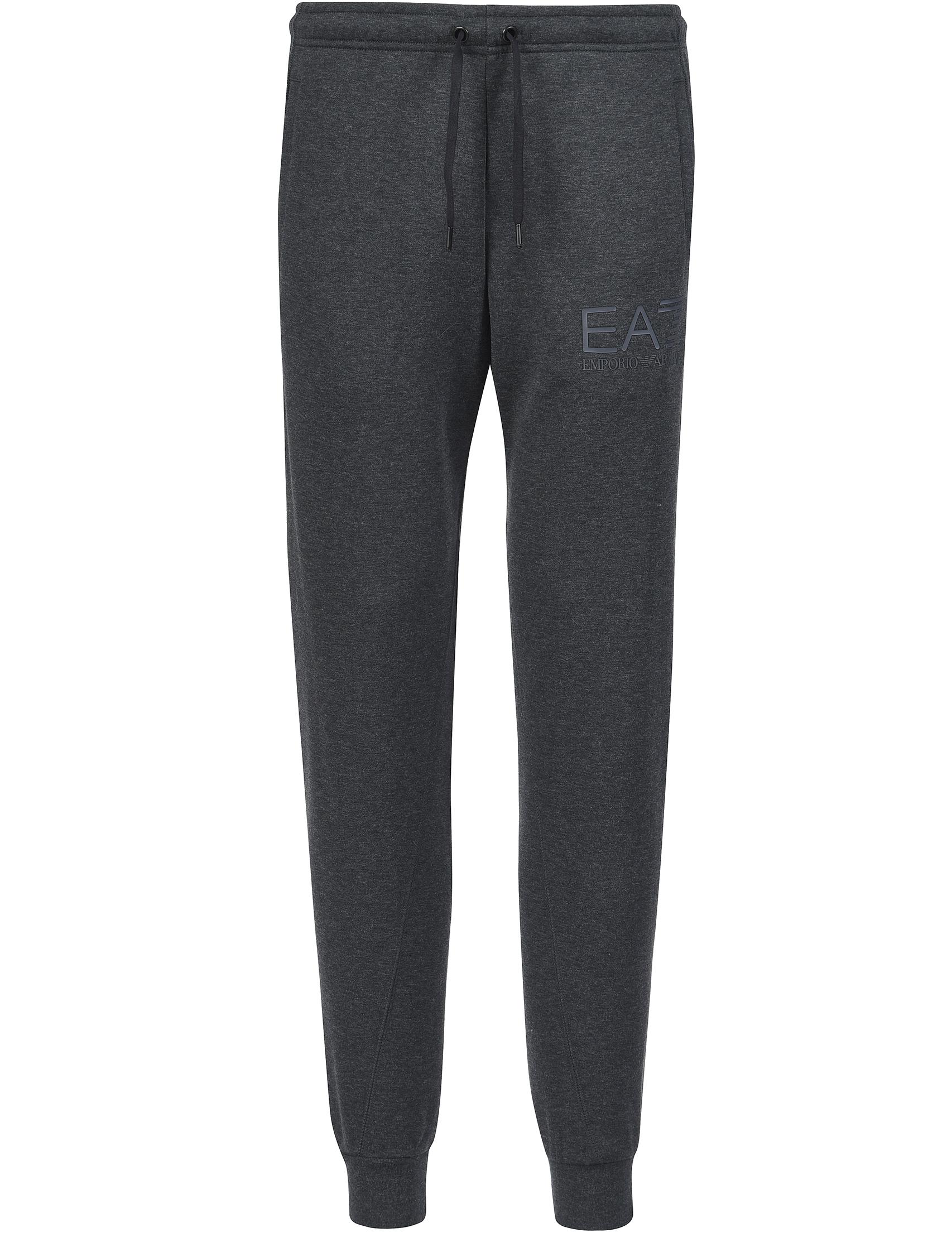 Купить Спортивные брюки, EA7 EMPORIO ARMANI, Серый, 72%Хлопок 28%Полиэстер, Осень-Зима