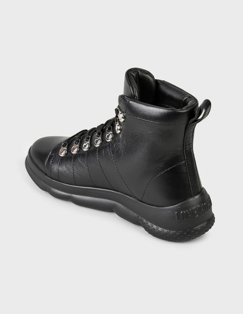 женские черные Ботинки Love Moschino JA15514G0DIE0000 - фото-2