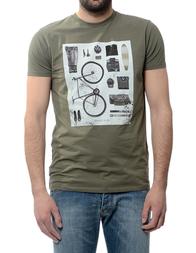 Мужская футболка ARMANI JEANS C6H01DA60