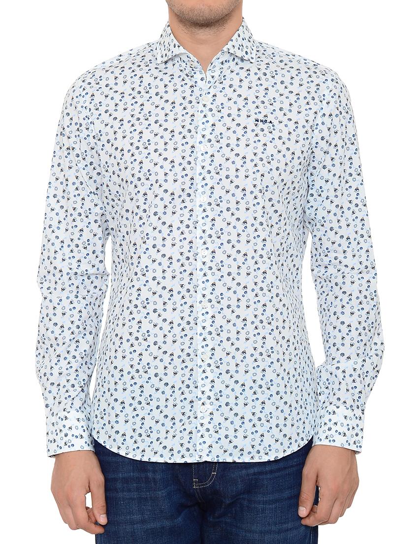 Купить Рубашка, NEW ZEALAND AUCKLAND, Белый, 100%Хлопок, Весна-Лето