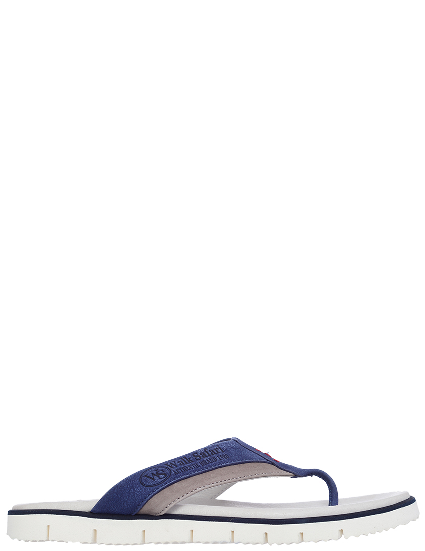 Детские шлепанцы для мальчиков Walk Safari F51280X_blue