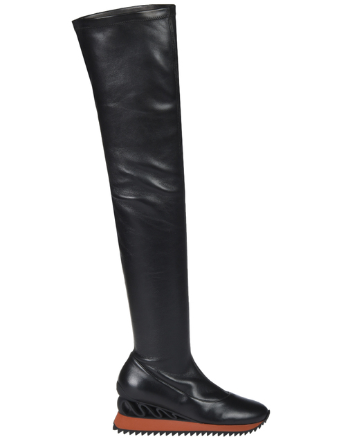 черные Ботфорты Le Silla 6589_black размер - 38; 39