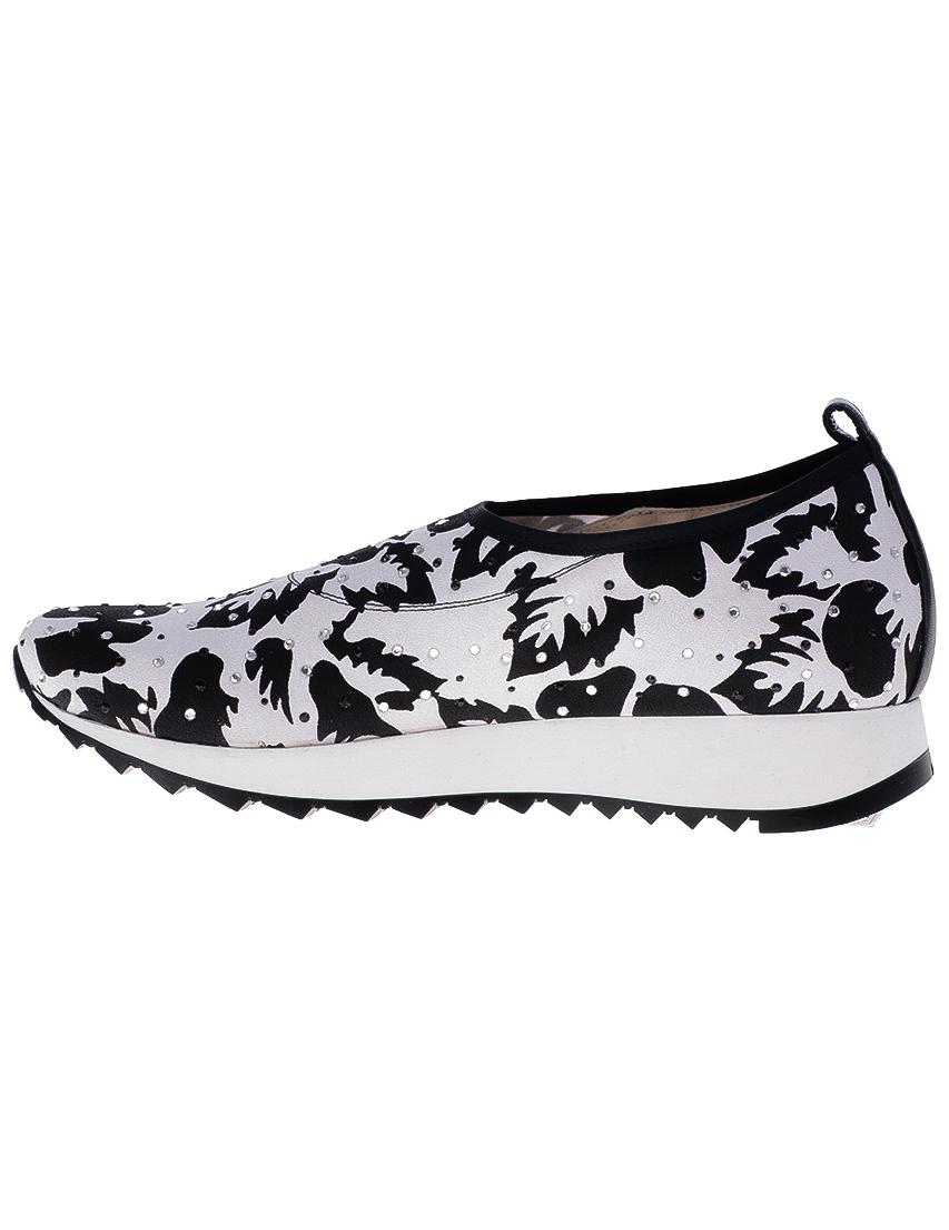 Текстильные белые кроссовки Loriblu (ITALY)