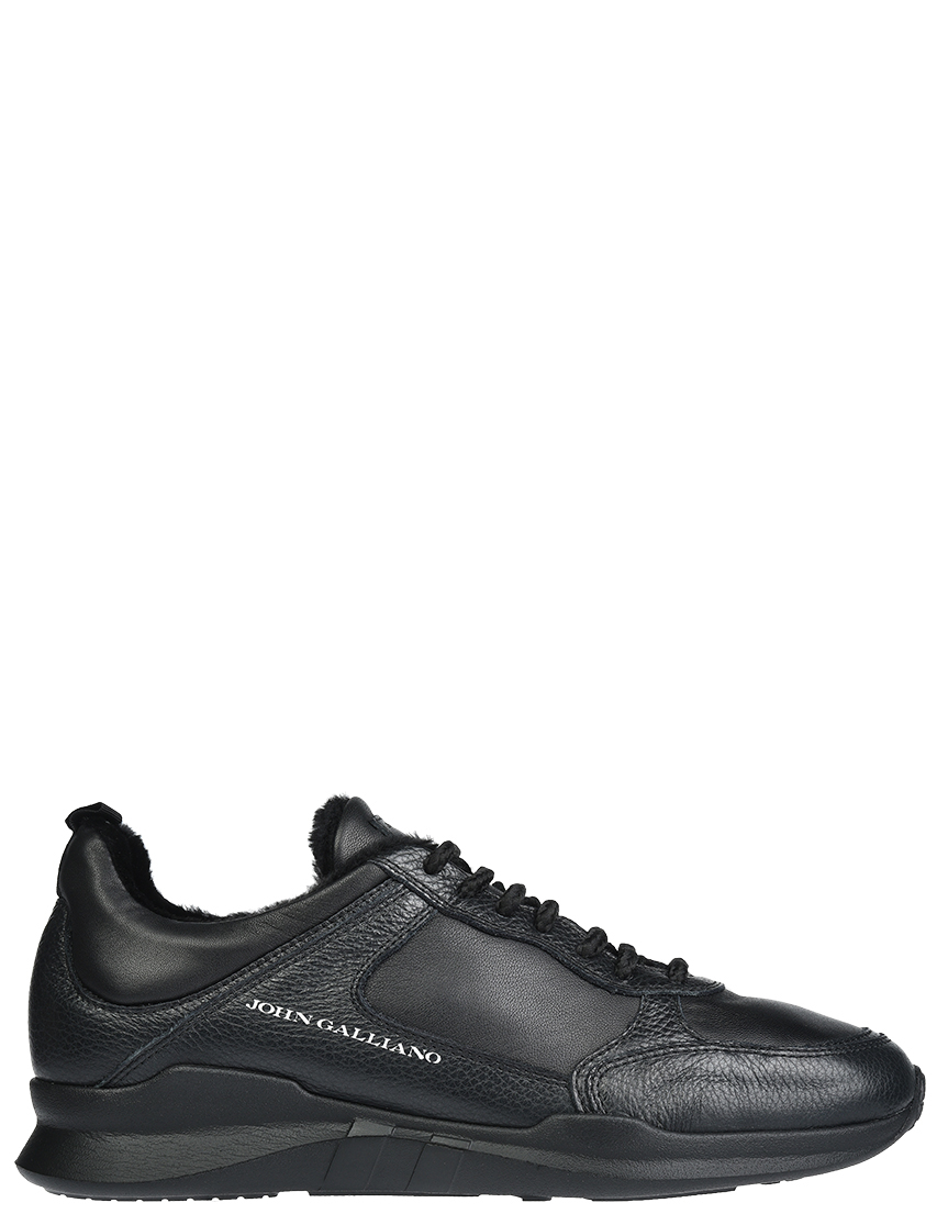 Мужские кроссовки John Galliano 5636_black