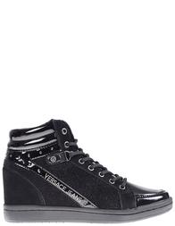 Женские сникерсы Versace Jeans VQBSI2-75440-899_black