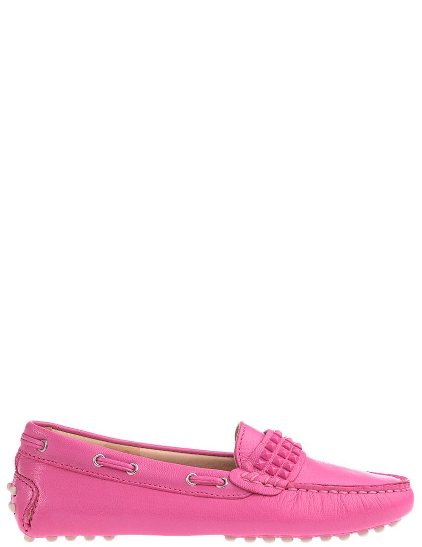 Детские мокасины для девочек FLORENS F7200fuxia_pink