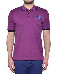 Мужское поло HARMONT&BLAINE HBL093520455567_purple