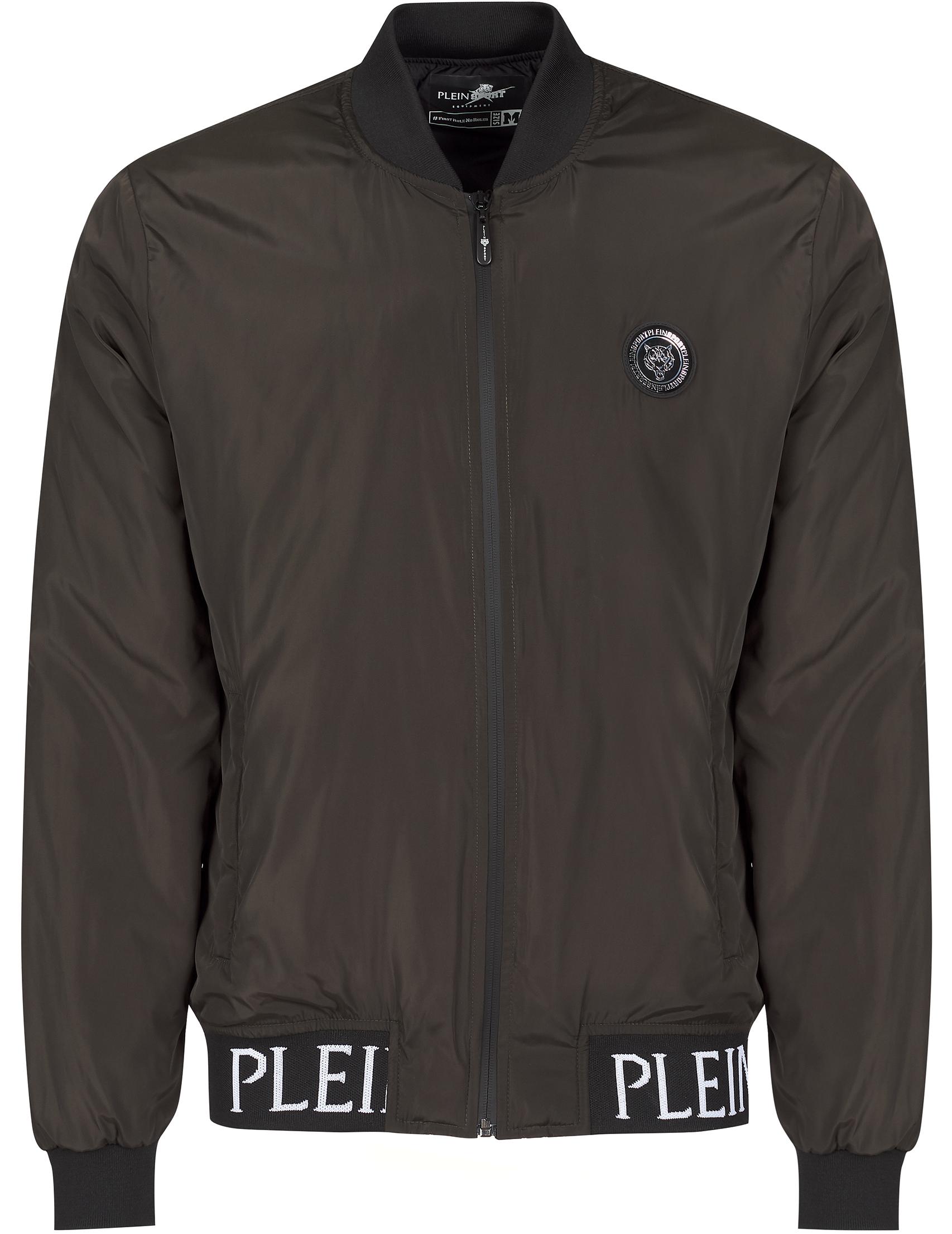 Купить Куртки, Куртка, PLEIN SPORT, Зеленый, 100%Полиэстер, Осень-Зима